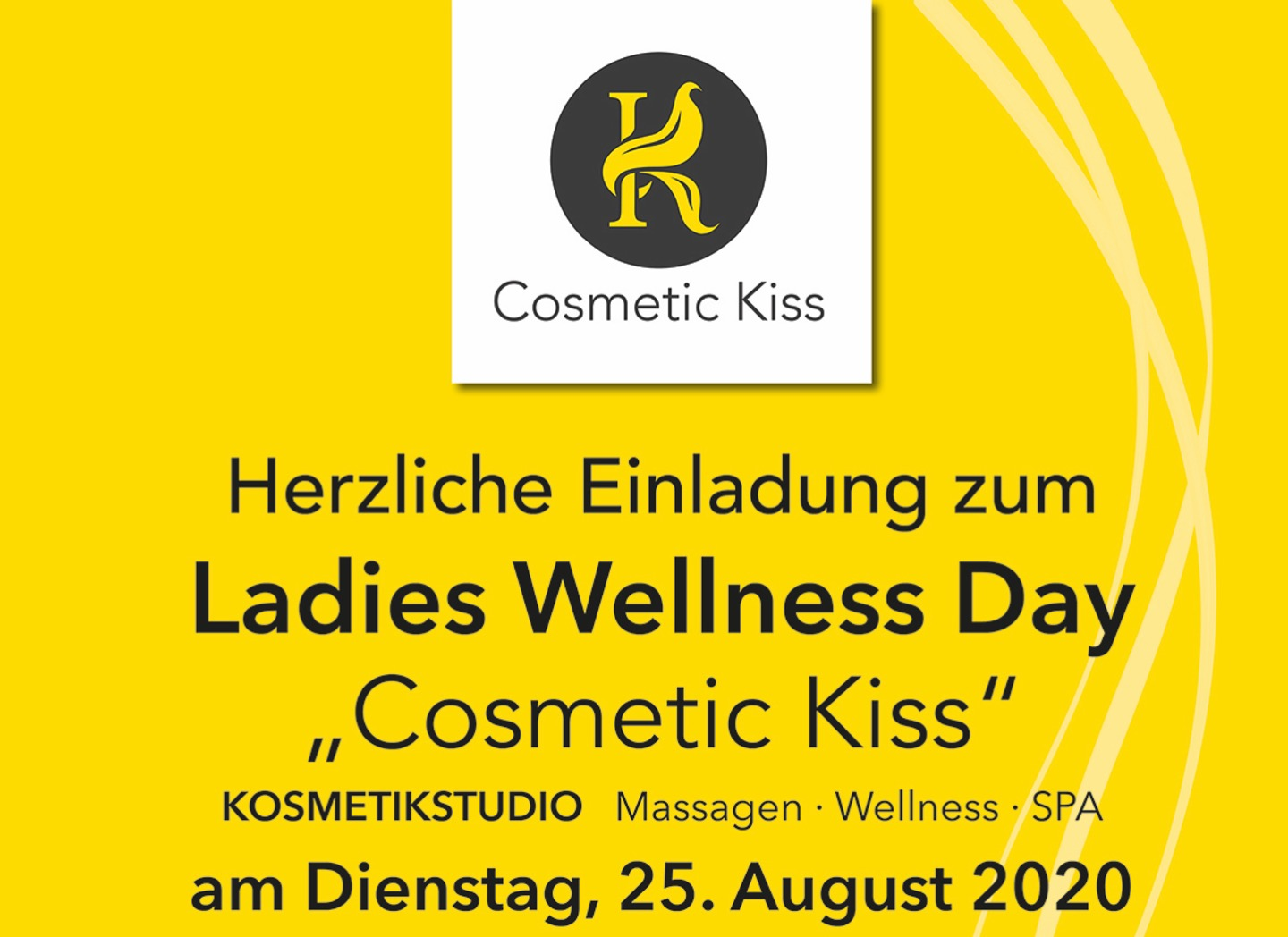 Ladies-Day Cosmetic Kiss