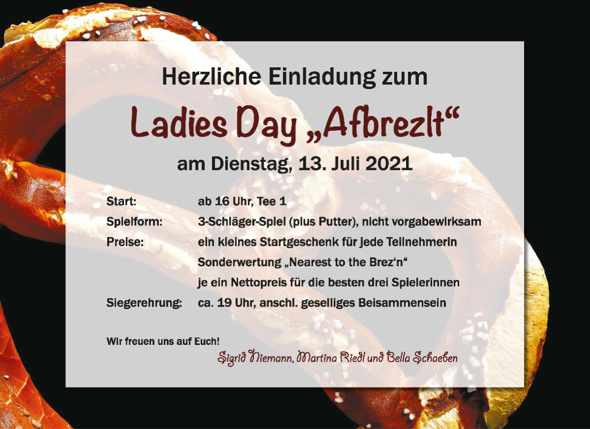 Ladiesday – Afbrezelt