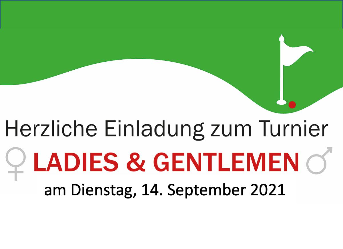 Ladiesday – Ladies & Gentlemen