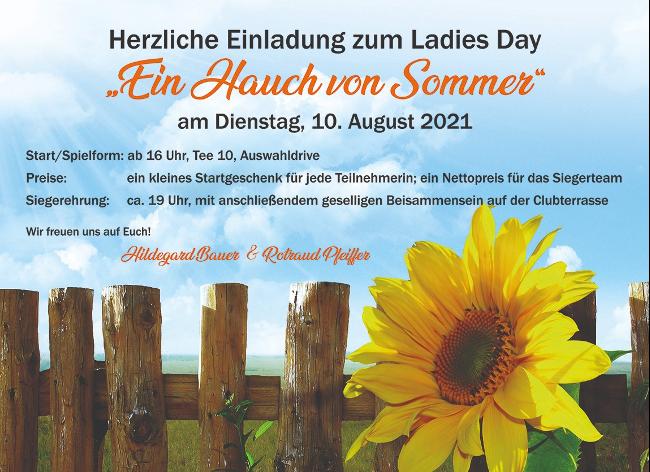 Ladiesday – Ein Hauch von Sommer