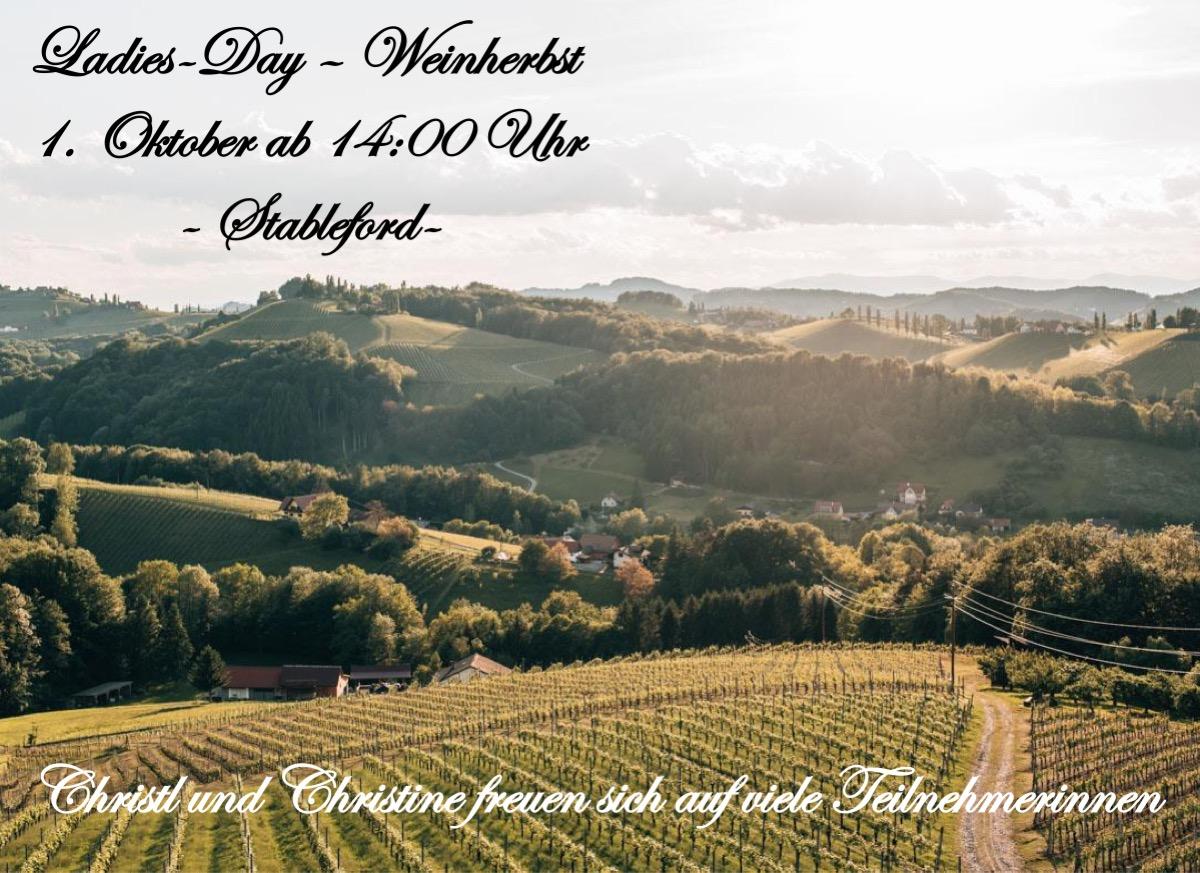 Ladiesday – Weinherbst
